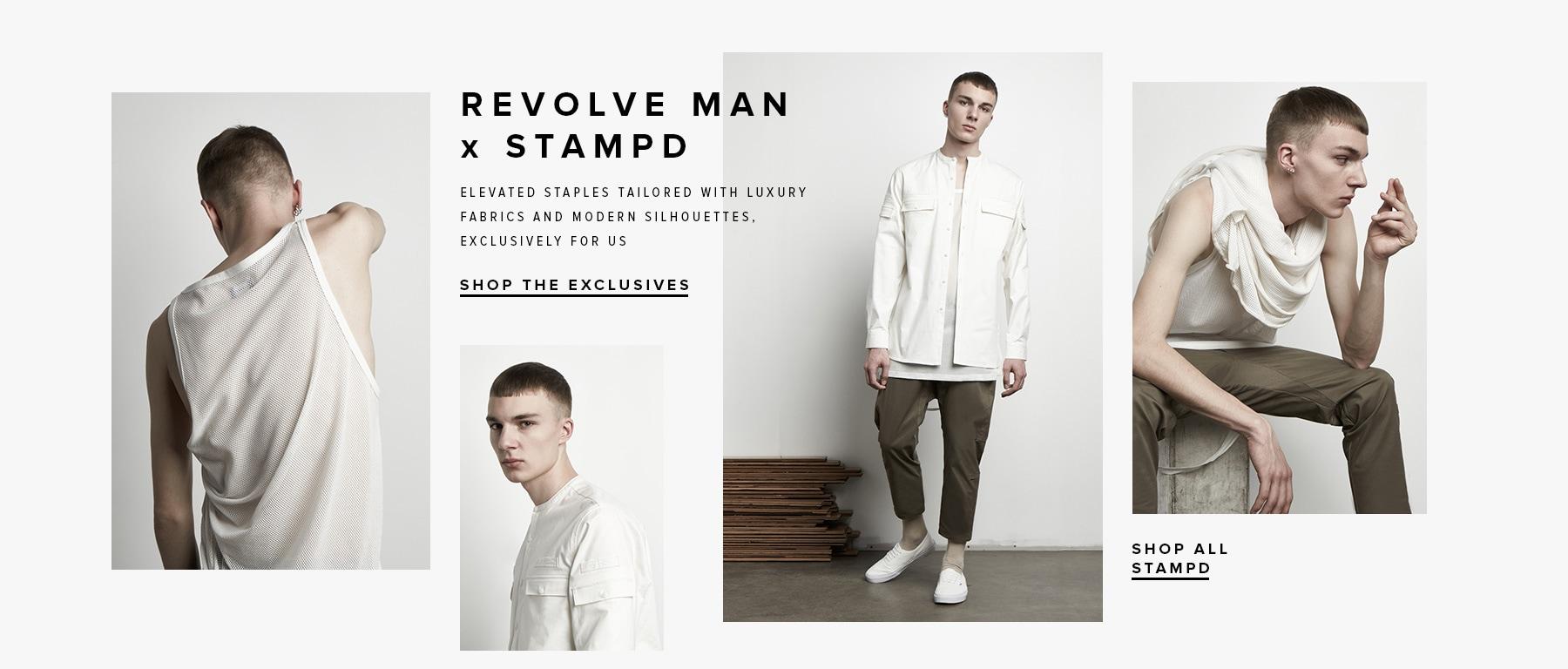 REVOLVE MAN x STAMPD