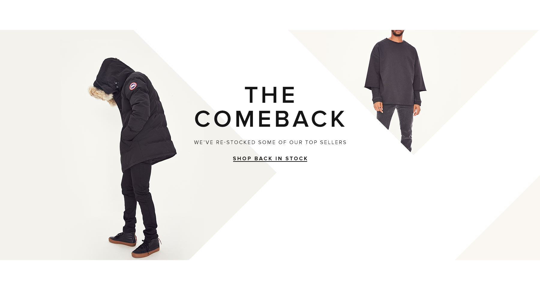 Shop All Back in Stock