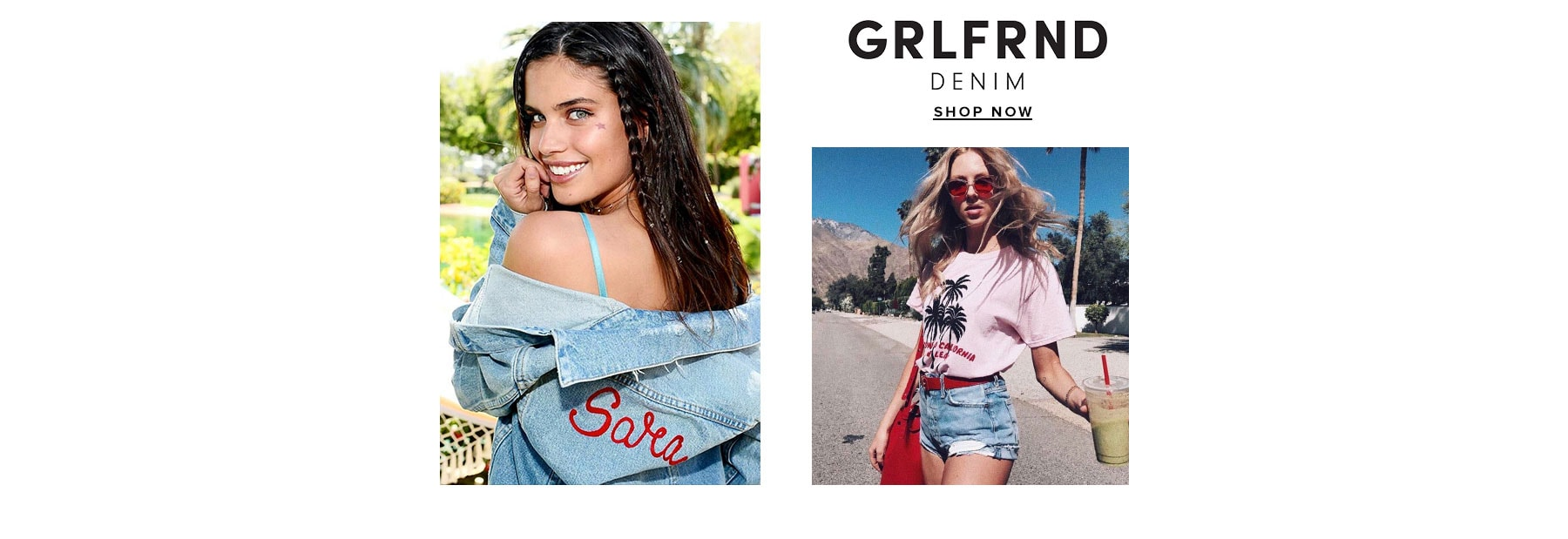 GRLFRND Denim