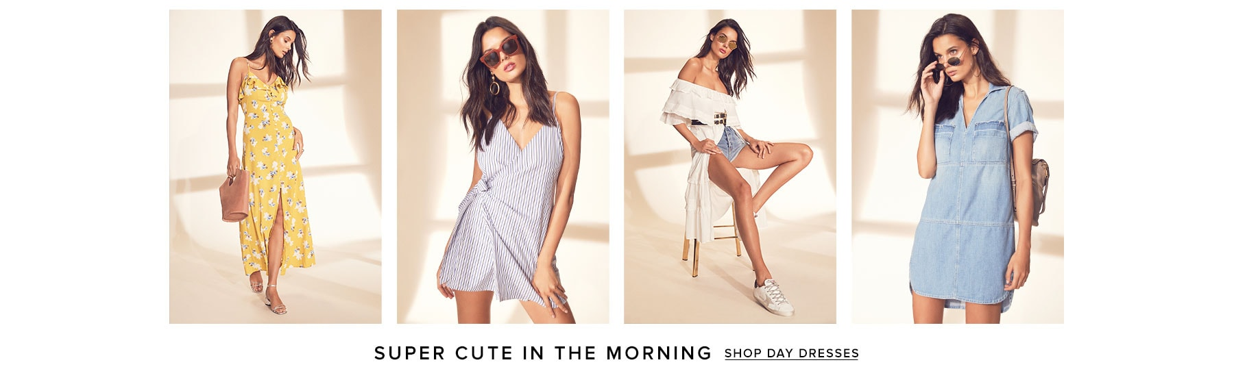 Super Cute in the Morning. Shop day dresses.