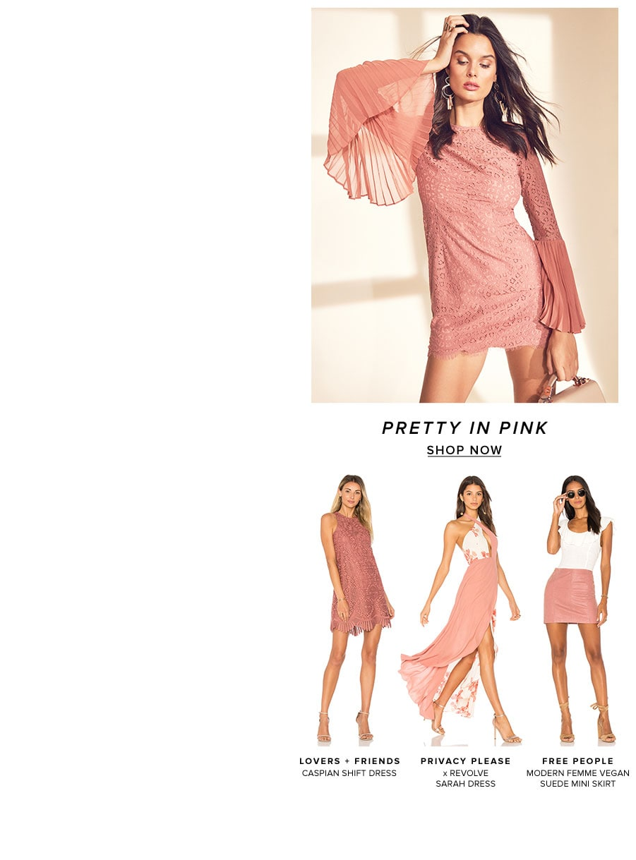 Pretty in pink. Shop now.