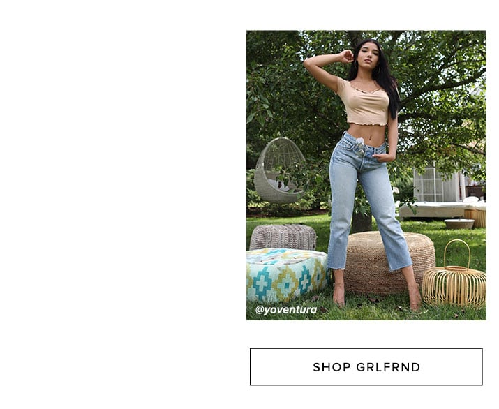 Shop GRLFRND Denim