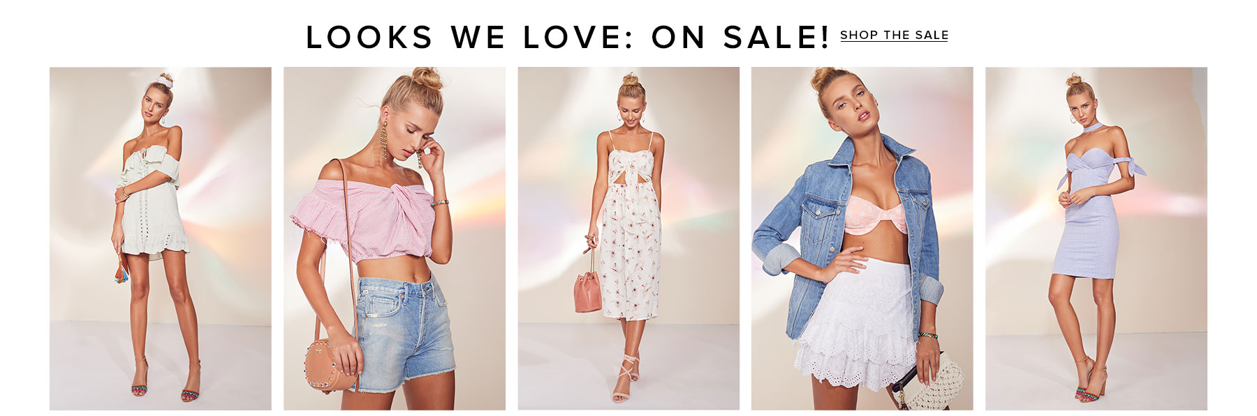 Looks We Love: On Sale. Up to 50% off the sexiest summer styles. Shop the Sale.