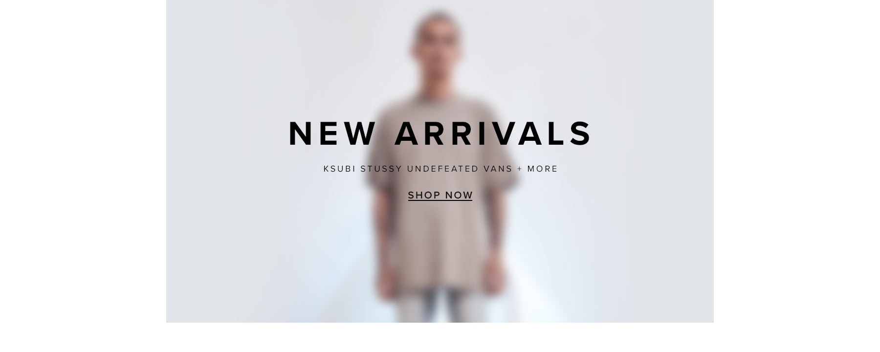 New Arrivals. Ksubi, Stussy, Undefeated, Vans + more. Shop New.