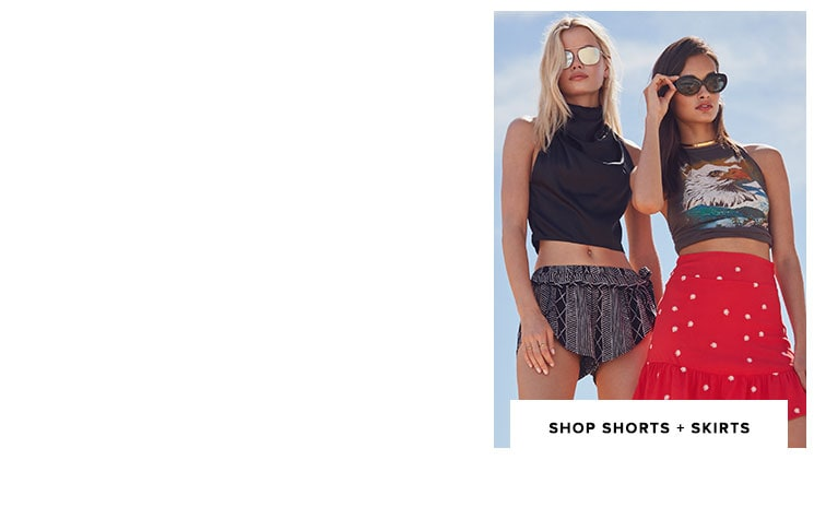 Shop Shorts + Skirts