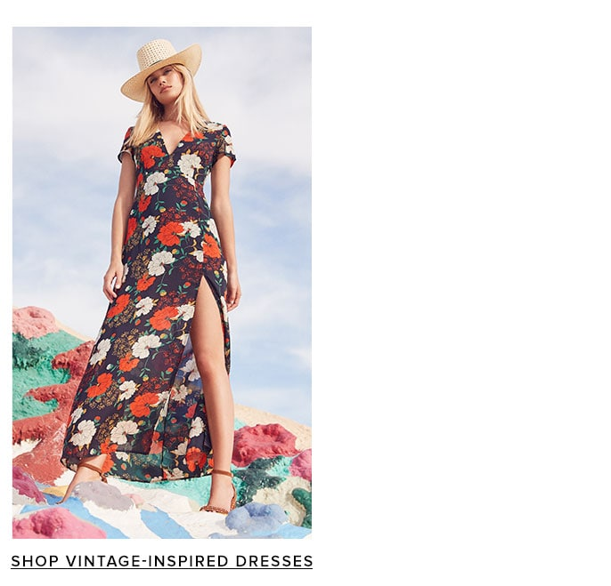 Shop Vintage-Inspired Dresses