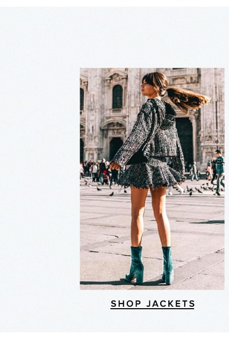 As seen on Revolvearoundtheworld. Shop Jackets.