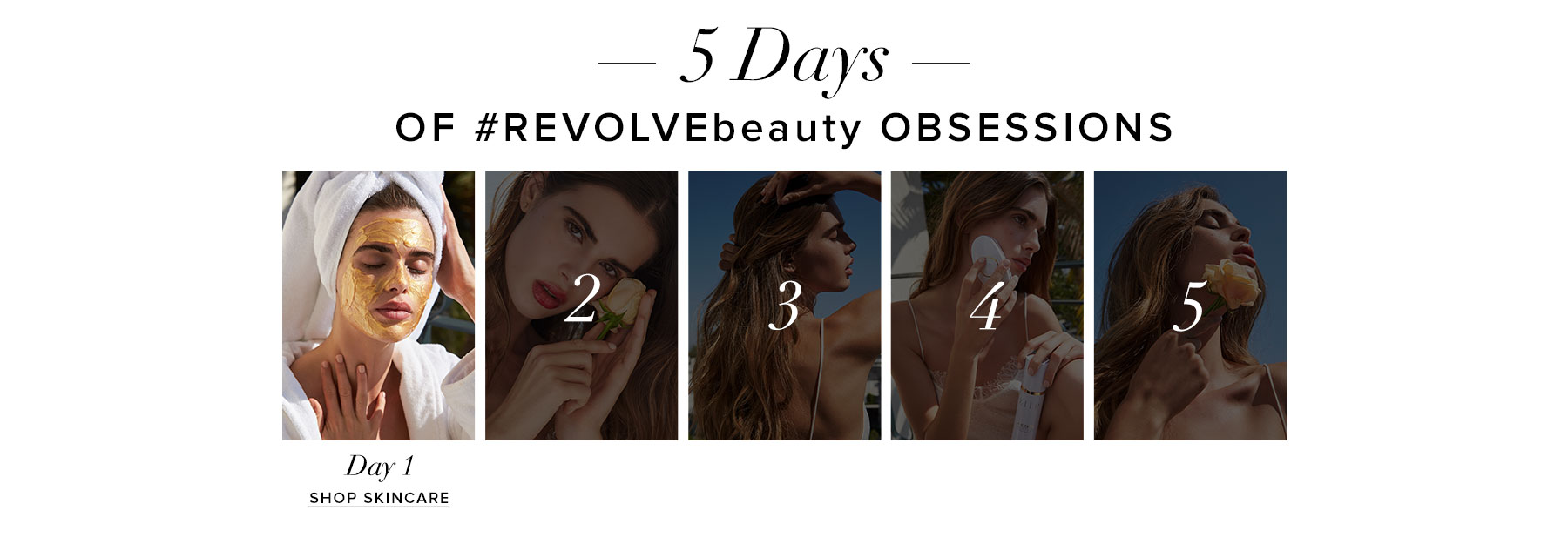 5 Days of REVOLVEbeauty Obsessions. Day 1. Shop Skincare.