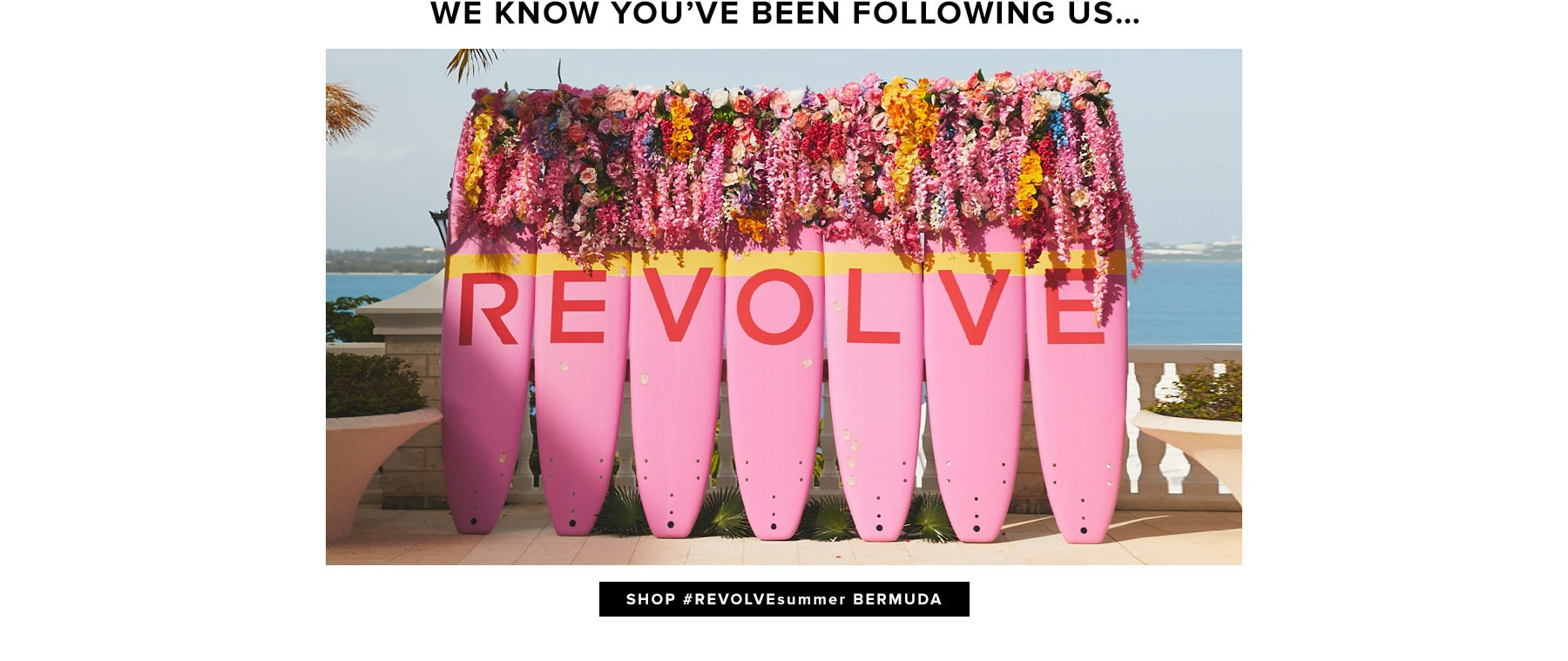 We Know You've Been Following Us... Shop REVOLVEsummer Bermuda.