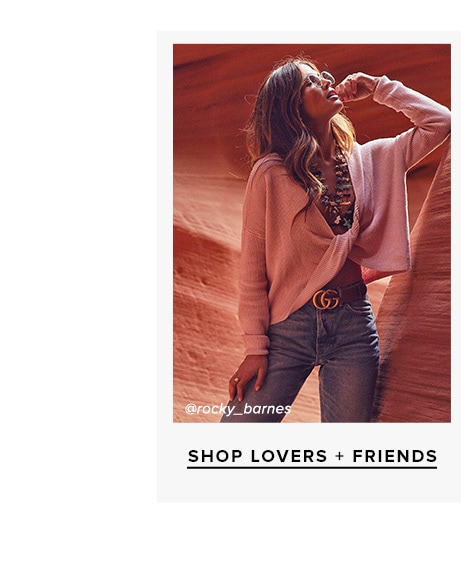 Shop Lovers + Friends