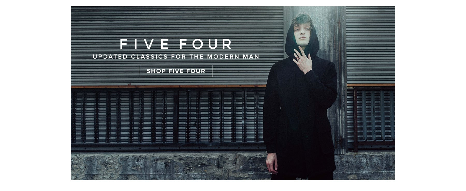 Five Four. Updated classics for the modern man. Shop Five Four.