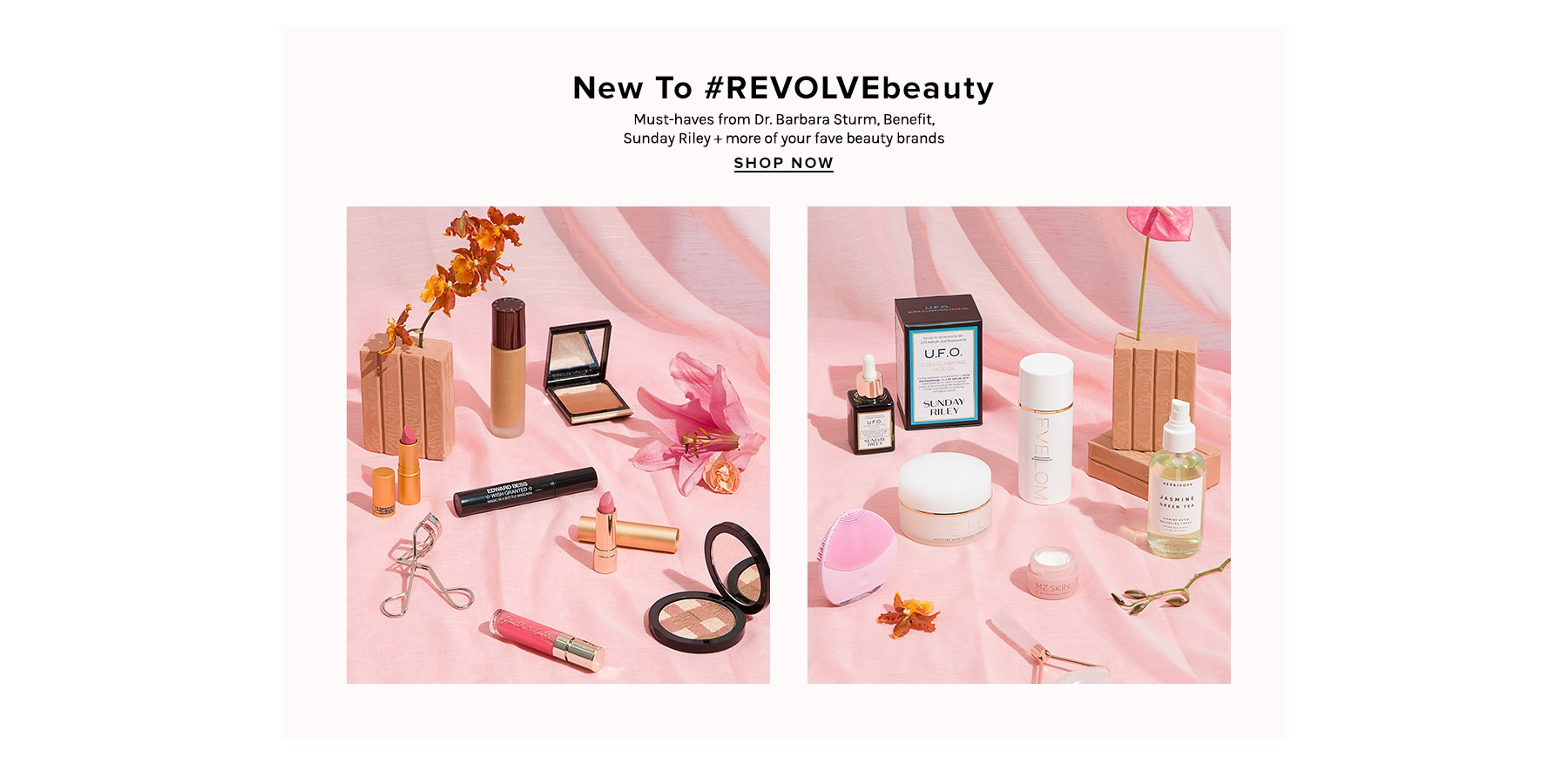 New To REVOLVEbeauty. Must-haves from Dr. Barbara Sturm, Benefit, Sunday Riley + more of your fave beauty brands. Shop now.