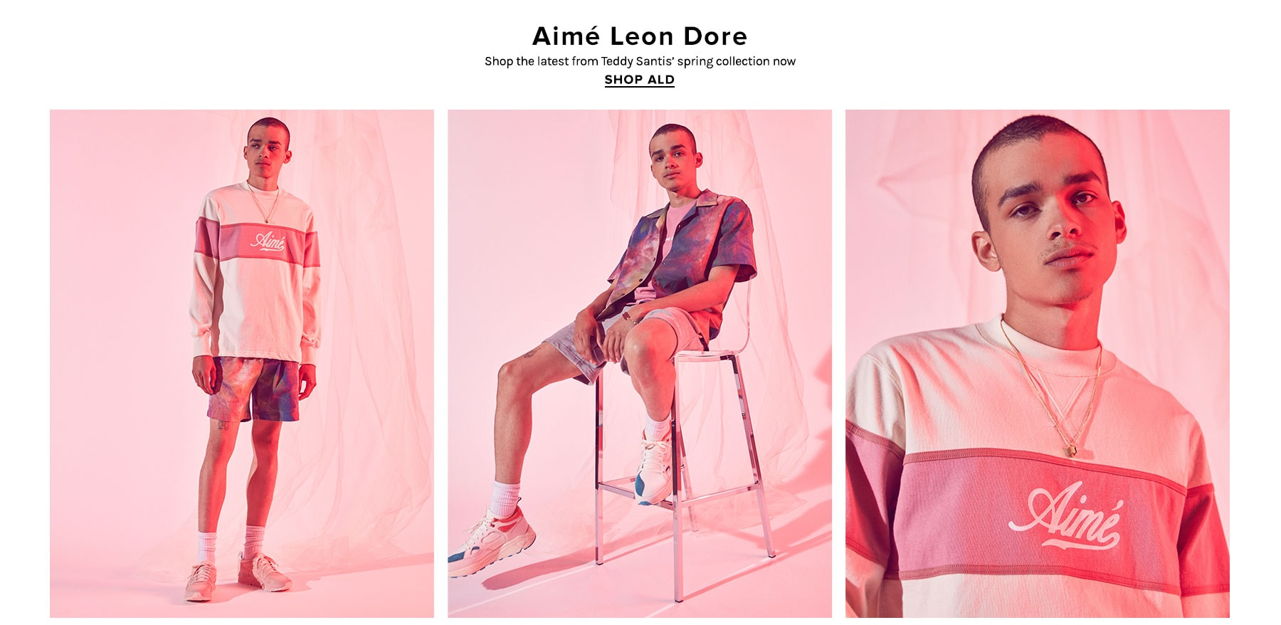 Aime Leon Dore. Shop the latest from Teddy Santis' spring collection now. Shop ALD.