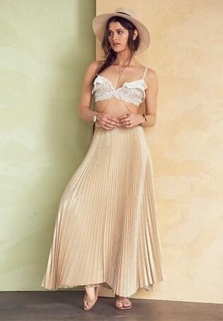 Back Ruffle Dress in Whisper White