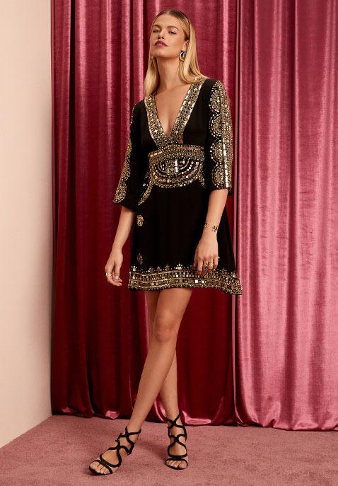 Short Caftan Dress