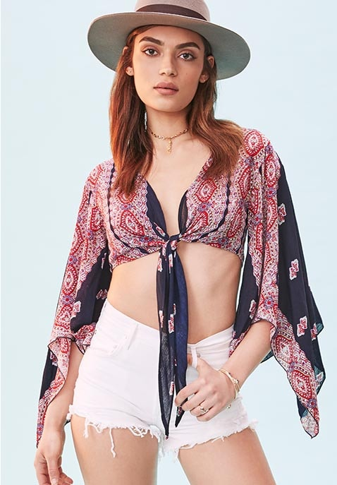Endless Love Wrap Top