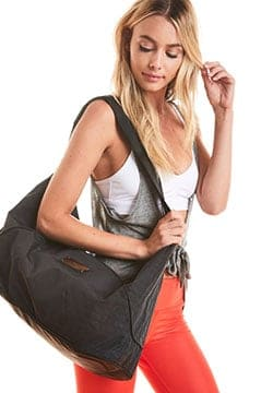 Sports Bag S Black Granite & Gunmetal