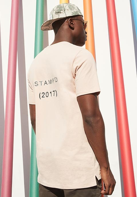 Pixelated Logo Tee