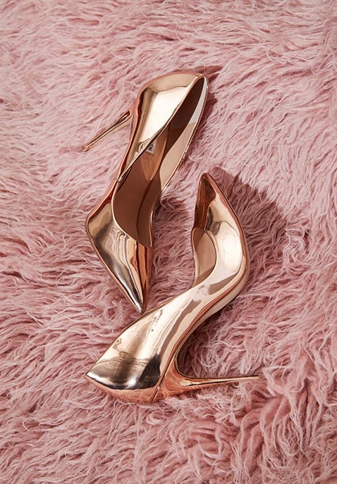 Daisie Metallic Pump