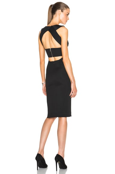 Bandage V Wrap Band Dress