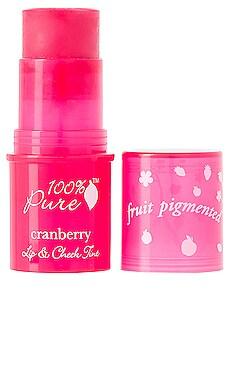 Lip & Cheek Tint in Cranberry Glow