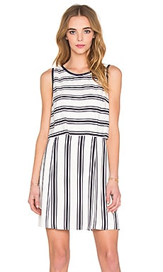 Sleeveless Pop Over Dress in Cloud