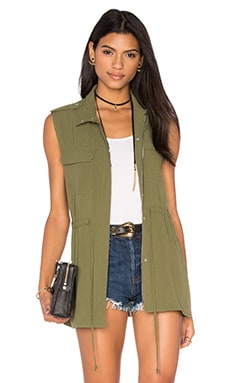 Patch Pocket Vest in Cypress