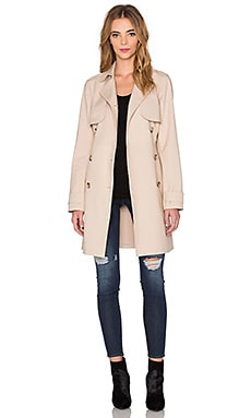Doubleweave Trench Coat in Classic Khaki