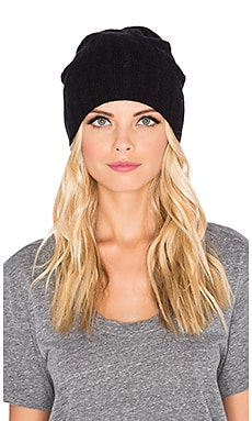 York Beanie in Black
