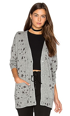 Starry Oversized Cardigan in Pewter