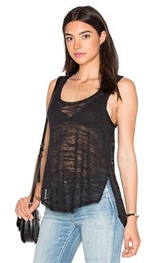 Carolina Racerback Tank in Black