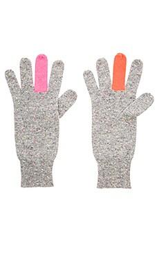 Fu Cashmere Glove in Festival