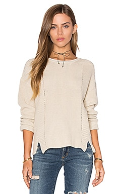 Crop Sweater in French Vanilla
