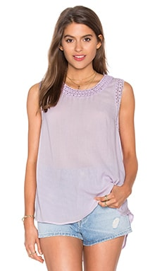 Crochet Tank in Summer Violet