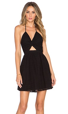 Sunset Dress in Black Rock