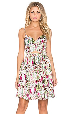 Miraflores Dress in Rainforest Floral