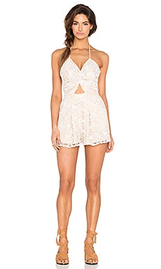Skinny Dippers Romper in Moonlight