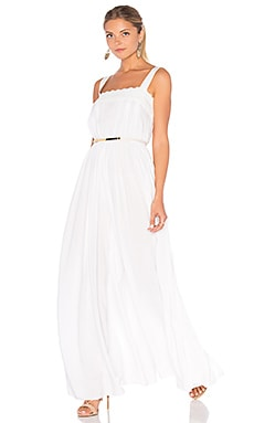 Loveboat Jumpsuit in Moonlight White
