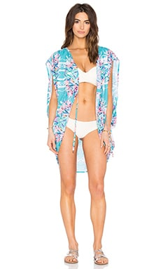 Sunrise Cover Up in Coco Floral