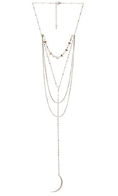 Moon Rising Lariat in Silver