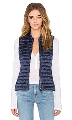 Padded Vest in Dark Navy