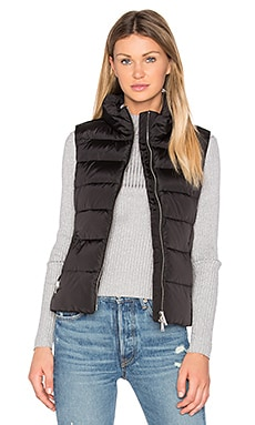 Down Vest in Black