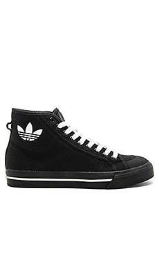 RS Matrix Spirit High Top Sneaker in Black & White