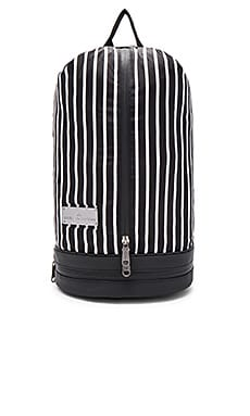 Sports Bag in Black Stripe