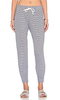 Varsity Pant in Stripe