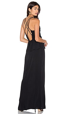 Frida Maxi Dress in Black