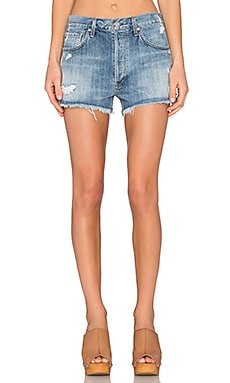 A Gold E Parker Vintage Cut Off Short in Springfield