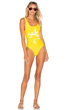 x Peppa Hart Salty One Piece in Marigold