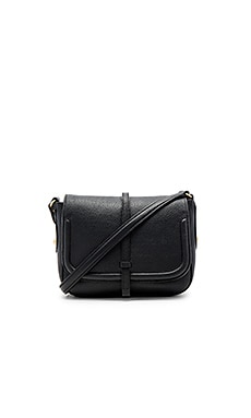Allysin Saddle Bag in Black