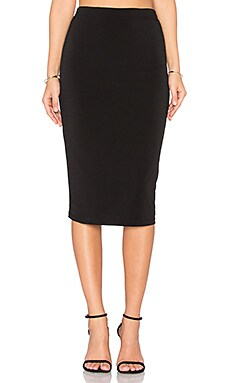 Ciera Pencil Skirt in Black